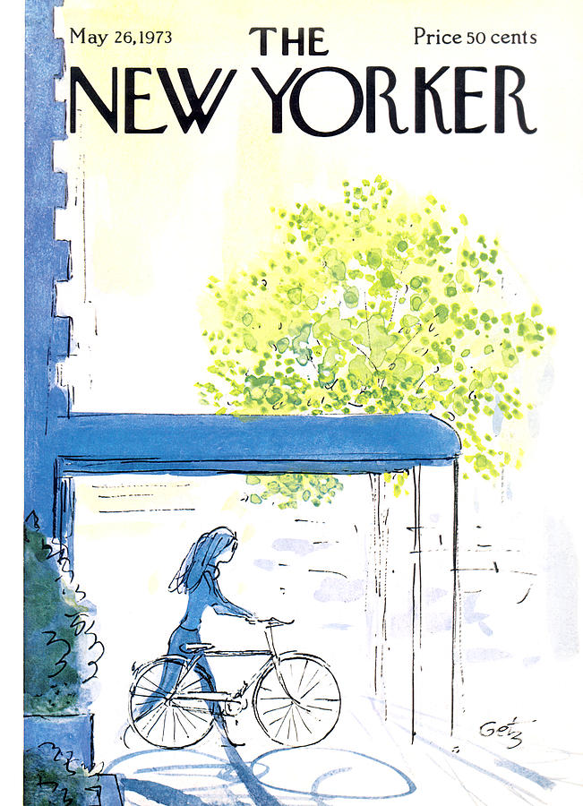 The New Yorker Cover - May 26th, 1973 Painting by Arthur Getz