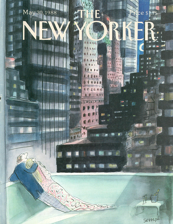 New Yorker May 30th, 1988 Painting by Jean-Jacques Sempe