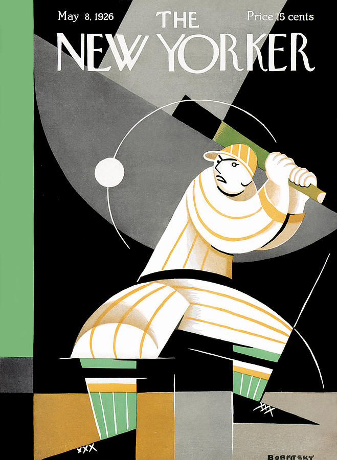New Yorker May 8th, 1926 Painting by Victor Bobritsky