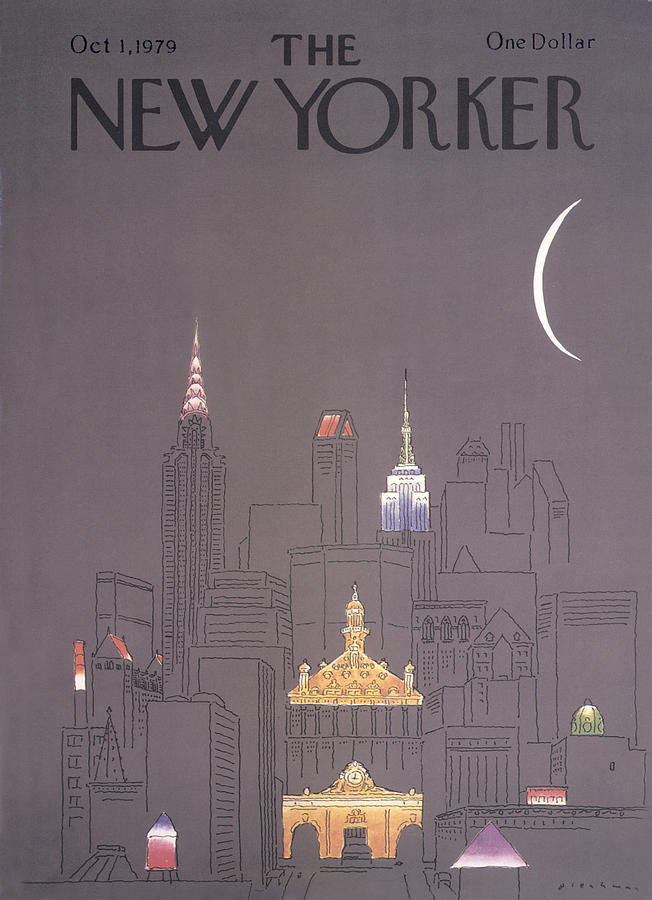 New Yorker October 1st, 1979 Drawing by RO Blechman