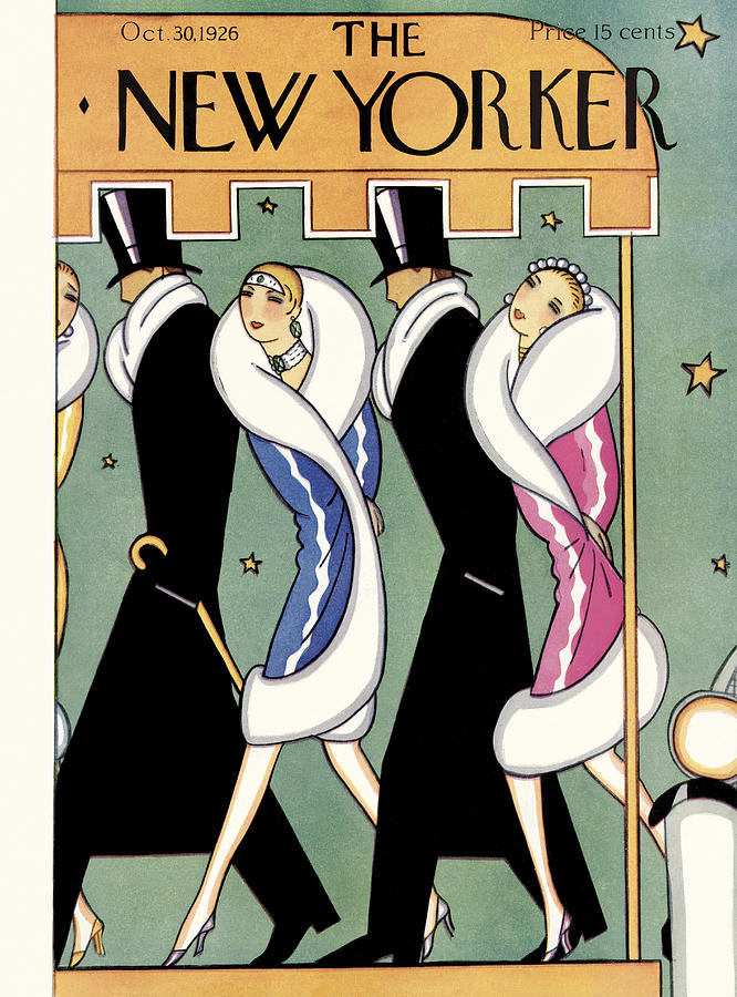 New Yorker October 30th, 1926 Painting by S W Reynolds