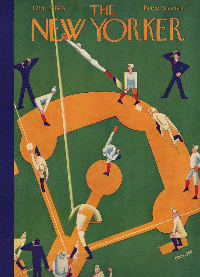 The New Yorker Cover - October 5th, 1929 Photograph by Theodore G Haupt