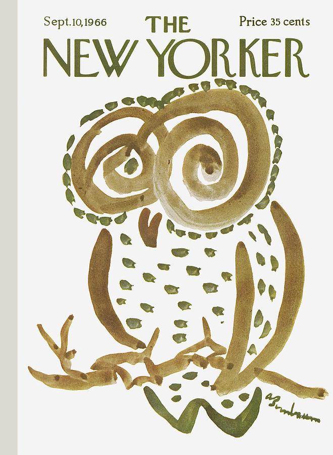 New Yorker September 10th, 1966 Painting by Abe Birnbaum