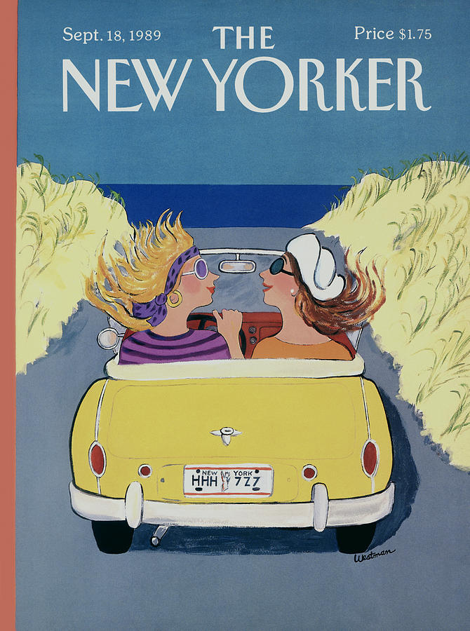 The New Yorker Cover - September 18th, 1989 Photograph by Barbara Westman