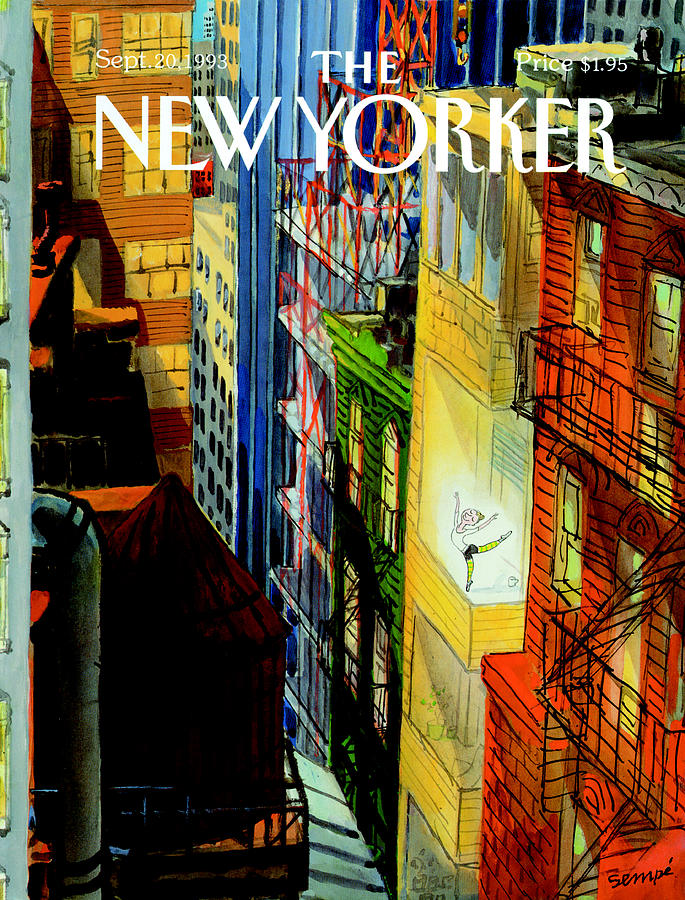 New Yorker September 20th, 1993 Painting by Jean-Jacques Sempe