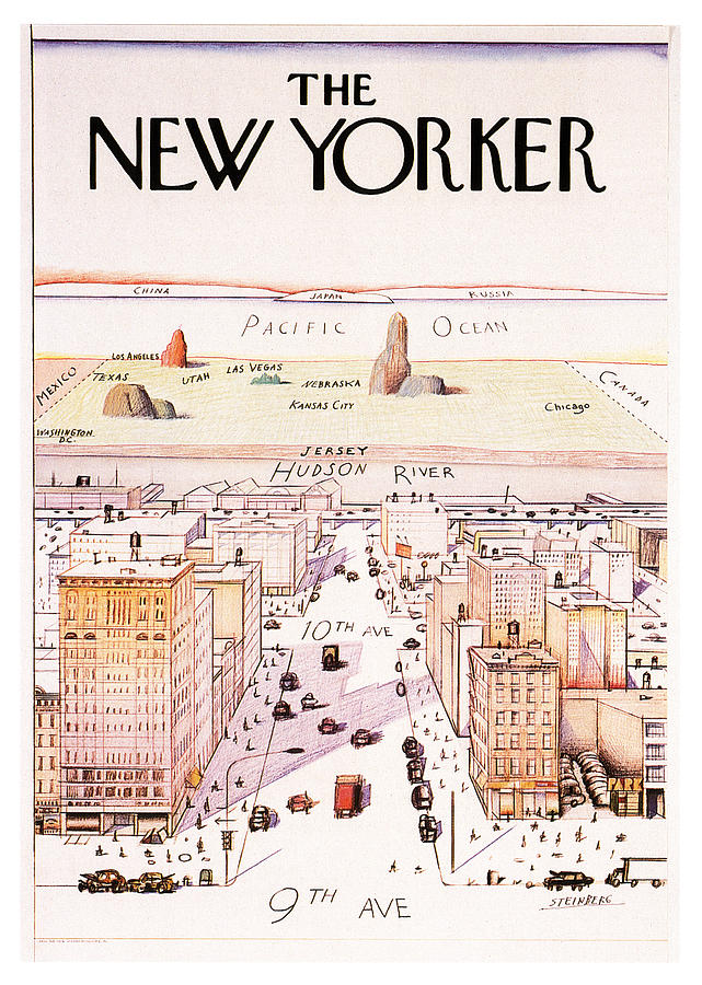 The New Yorker Mixed Media - The New Yorker - Magazine Cover - Vintage Art Nouveau Poster by Studio Grafiikka