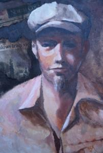 The Newsboy Painting by Bryan Alexander