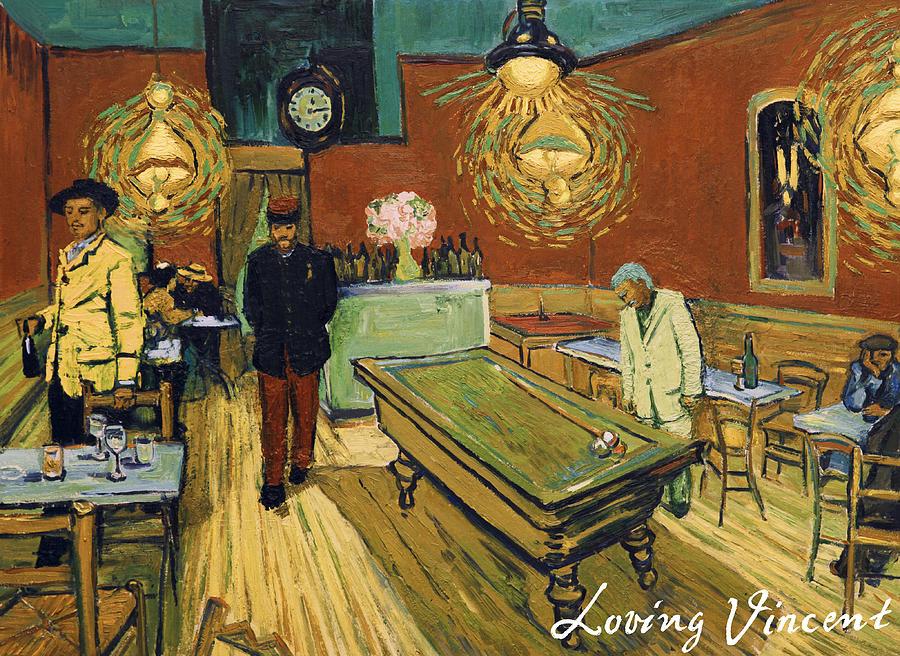 The Night Cafe Painting by Jerzy Lisak