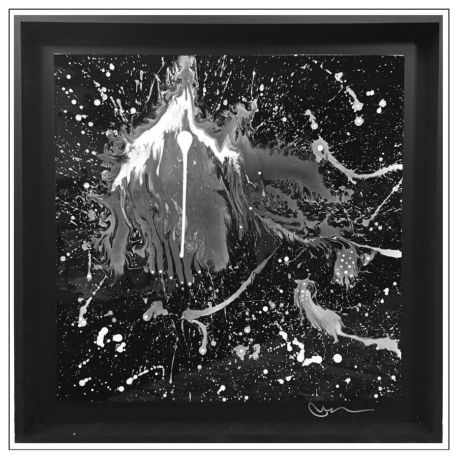 Abstract Painting - The Night Of - Edition 7 by Mac Worthington