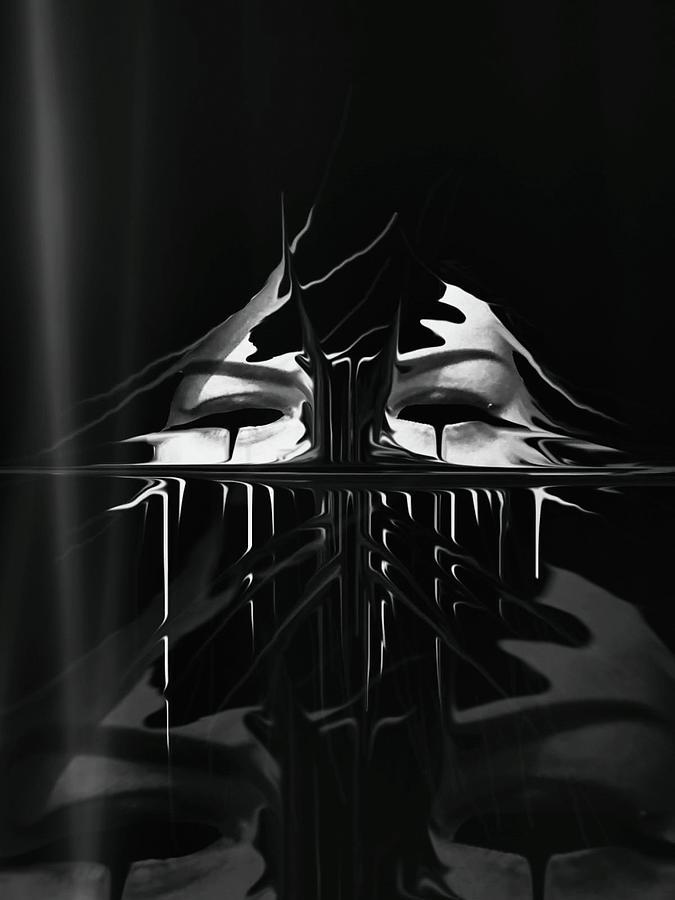Unforgiven Digital Art - The Nightmare by Frances Lewis
