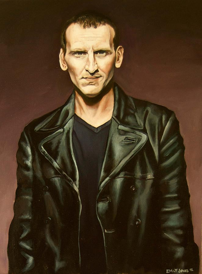 Doctor Who Painting - The Ninth Doctor by Emily Jones