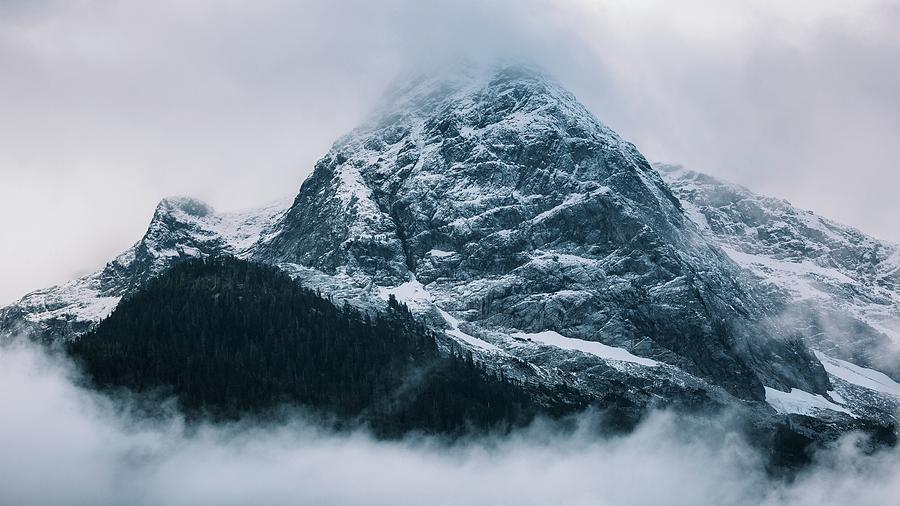Diablo Lake Photograph - The North Cascades by John Westrock