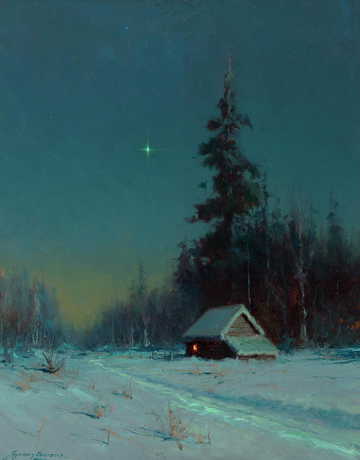 The North Star Painting - The North Star by Sydney Mortimer Laurence