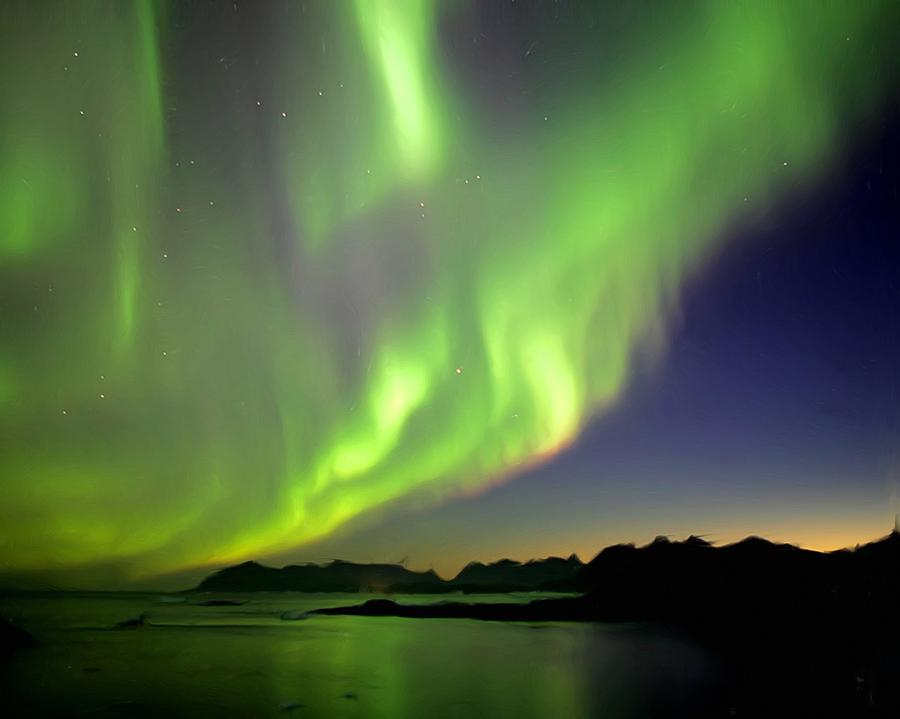 The Northern Lights by Wayne Bonney