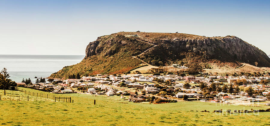 Stanley Photograph - The Nut In Stanley Tasmania by Jorgo Photography - Wall Art Gallery