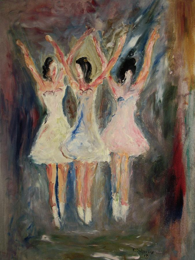 Dance Painting - The Nutcracker by Edward Wolverton