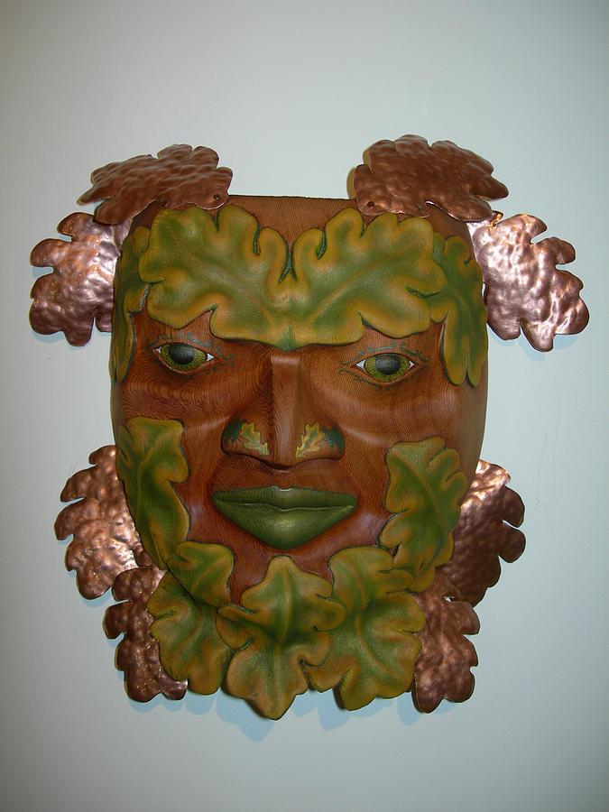 Celtic Sculpture - The Oak King by Shane  Tweten