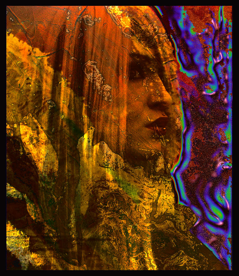 Sciencefiction Digital Art - The Offworlder by Adam Kissel