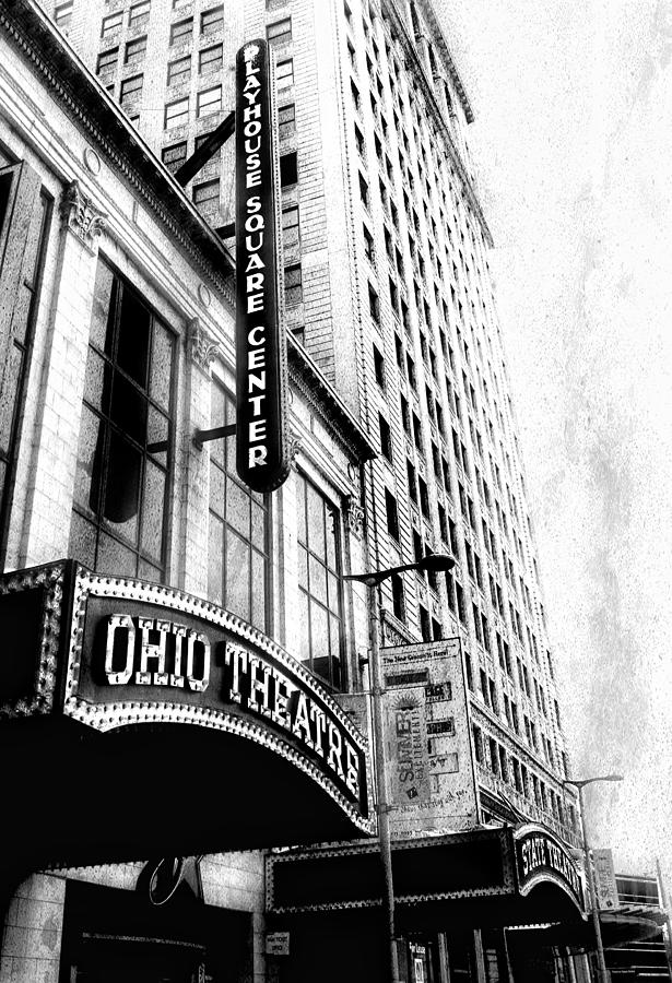 The Ohio And State Theatres Photograph