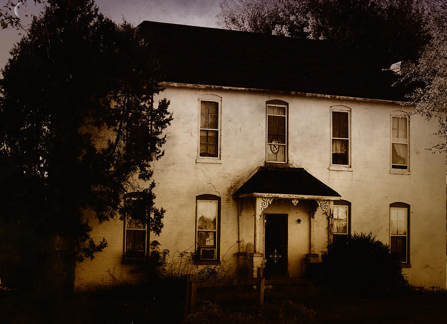 Old Houses Photograph - The Old And The Beautiful by Kristie  Bonnewell