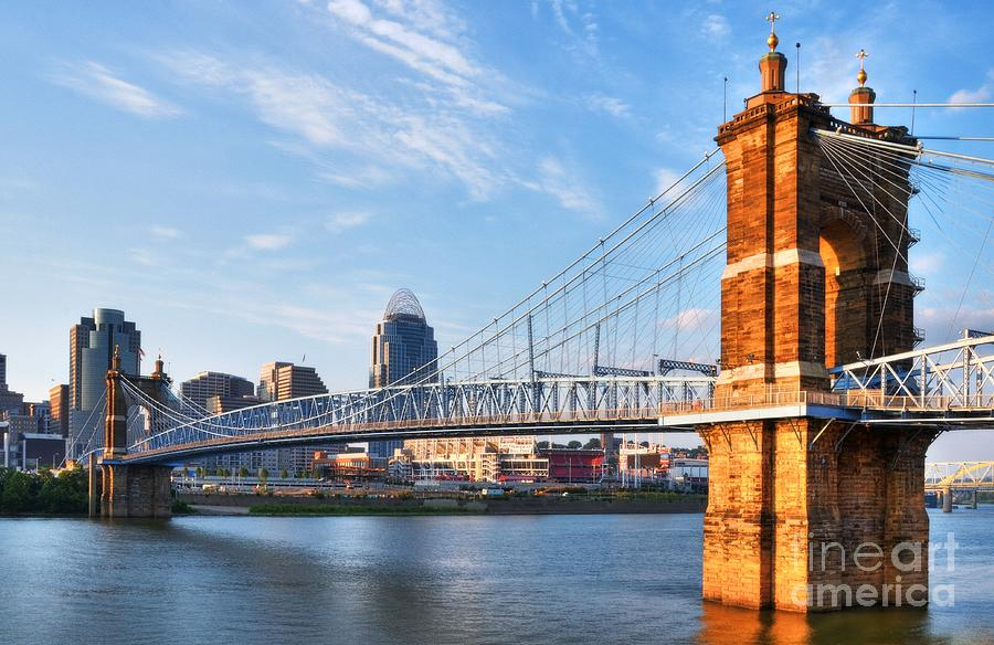 Cincinnati Photograph - The Old And The New by Mel Steinhauer