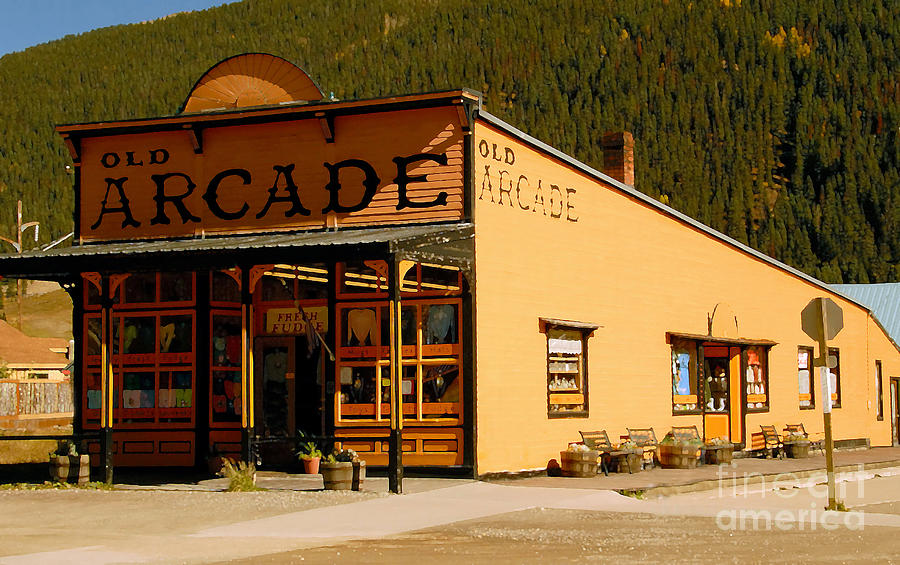 Arcade Photograph - The Old Arcade by David Lee Thompson