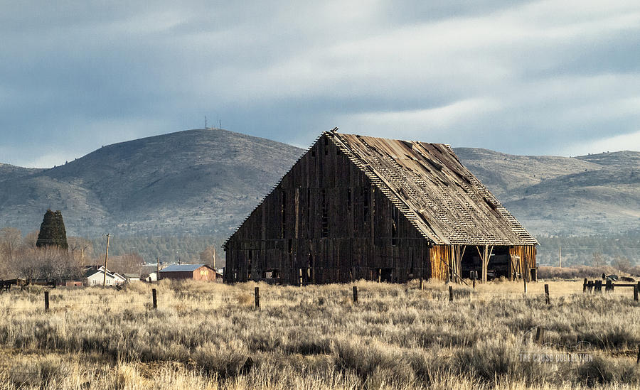 Susanville Photograph - The Old Barn At The Edge Of Town by The Couso Collection