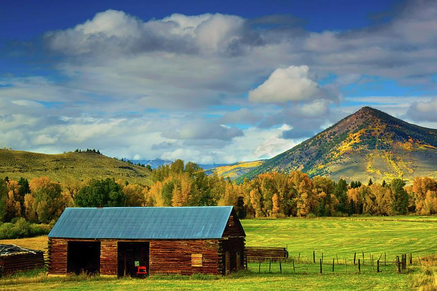 Aspen Photograph - The Old Barn by John De Bord