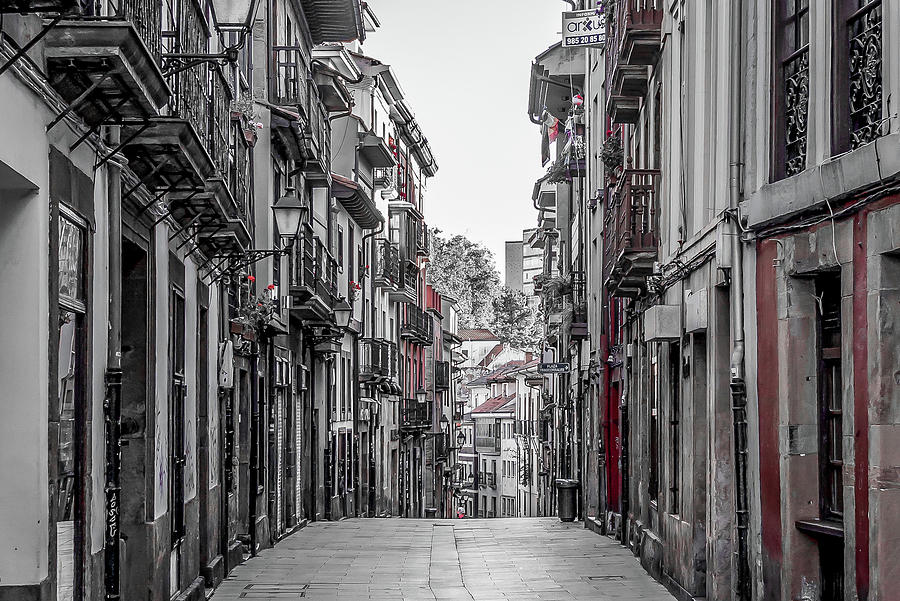Spain Photograph - The Old City by Ric Schafer