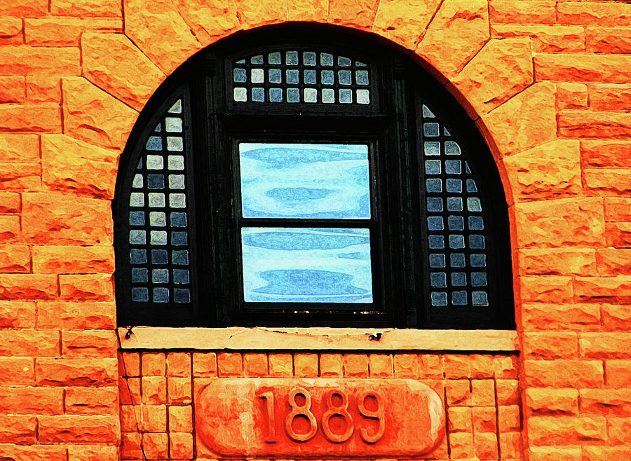 Abstract Photograph - The Old Depot 1889 by Lenore Senior