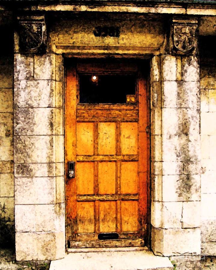 Door Photograph - The Old Door by Reb Frost