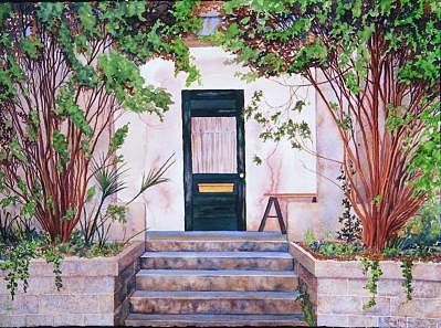 The Old Door Painting by Sydney McKenna
