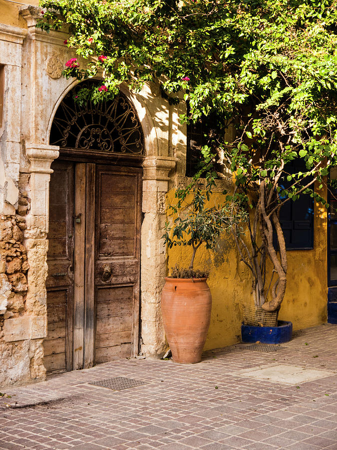 Chania Photograph - The Old Entrance by Rae Tucker