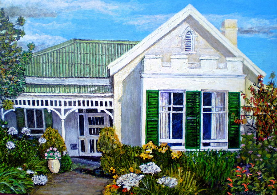 House Painting - The Old Farm House by Michael Durst