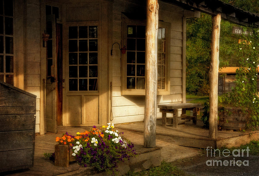 Store Photograph - The Old General Store by Lois Bryan