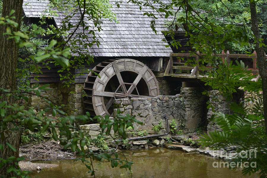 The Old Grist Mill  2 by Barb Dalton