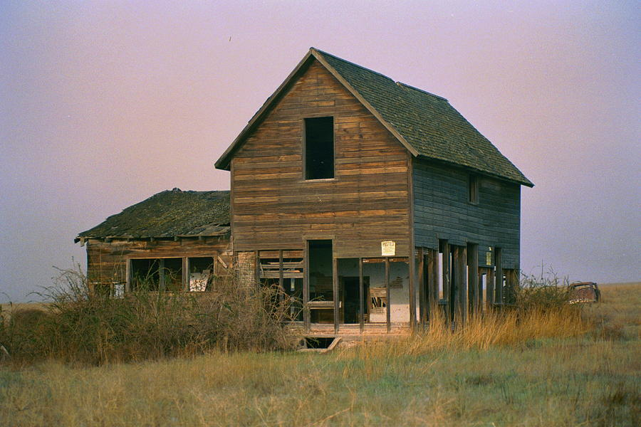 Old Photograph - The Old Homestead by JoJo Photography