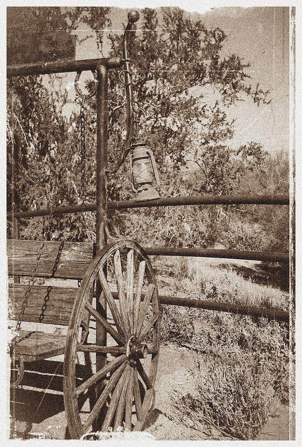 Western Photograph - The Old Lantern by Theresa Higby
