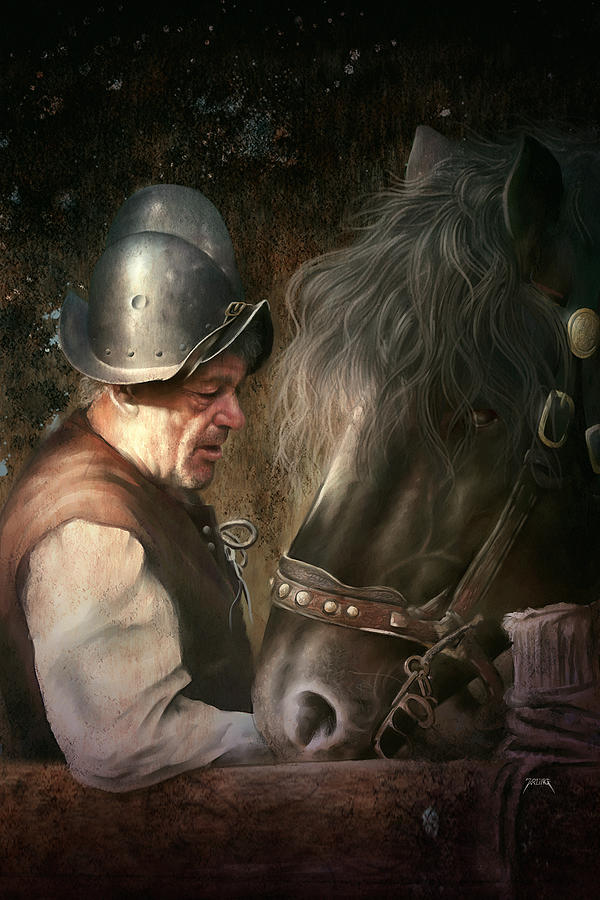 The Old Man And His Trusty Friend by Uwe Jarling