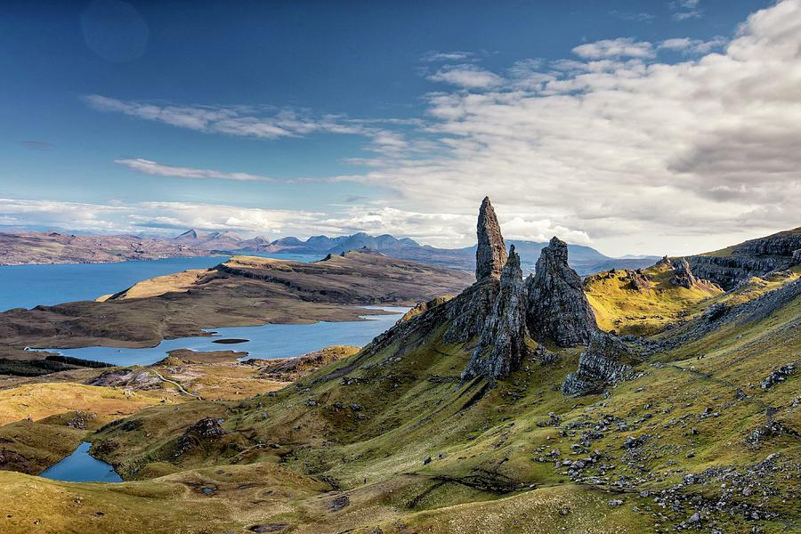 the old man of storr by Martin Bennie