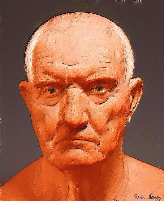 The Old Man Digital Art by Rein Nomm
