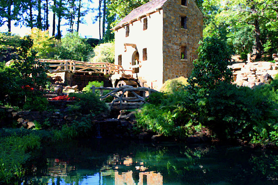 Mill Digital Art - The Old Mill by Savannah Fonner