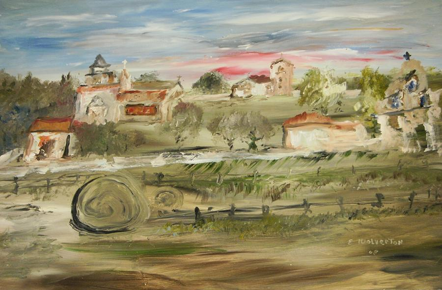 Landscape Painting - The Old Mission by Edward Wolverton