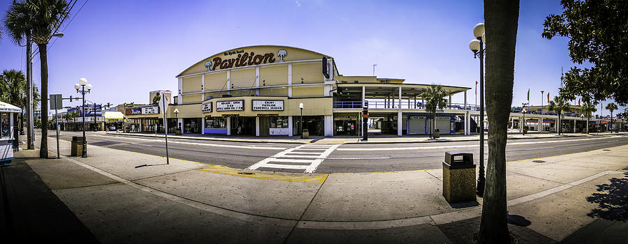 The Old Myrtle Beach Pavilion Photograph By David Smith