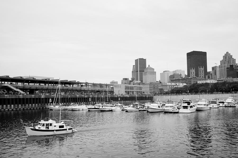 Port Photograph - The Old Port In Montreal by Martin Rochefort