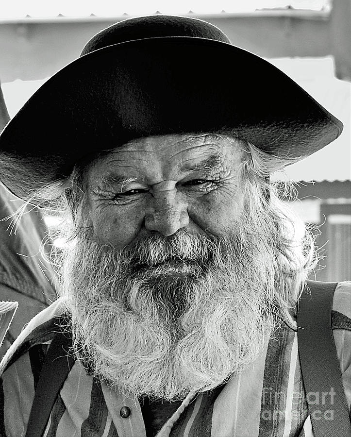 The Old Prospector Of Tomstone Photograph By Jim Chamberlain