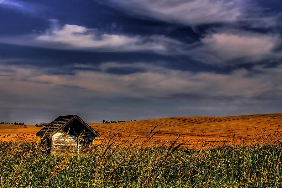 Landscape Photograph - The Old Pumphouse by David Patterson
