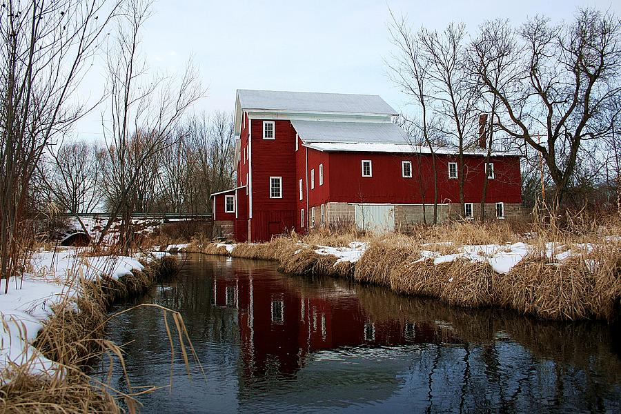 The Old Red Mill by Neal Nealis