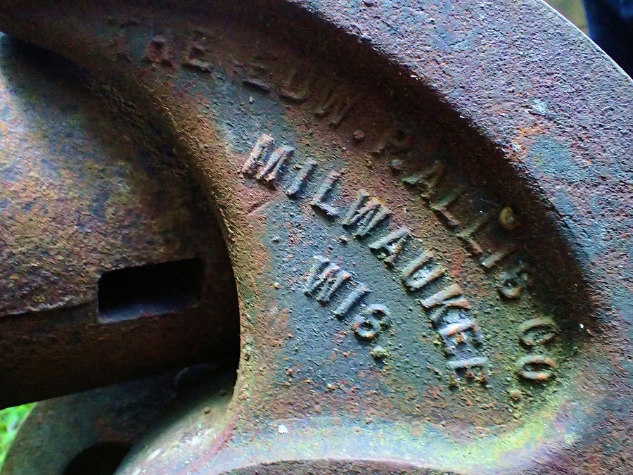 Metal Photograph - The Old Stamp Mill- Findley Mine by Nicole Angell