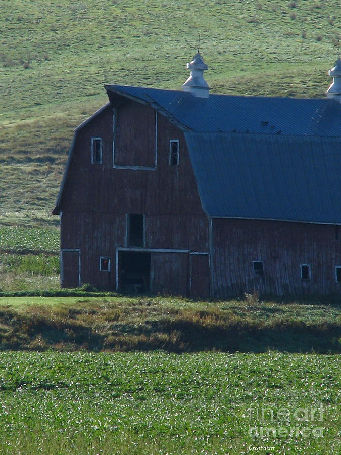 Old Barn Photograph - The Old Style by Greg Patzer